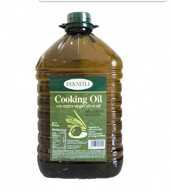 Dầu Rán Oliu Hanoli Cooking Oil With Extra Virgin Olive Oil (5 Lít)