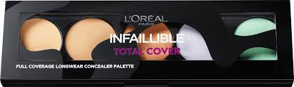 Phấn che khuyết điểm Loreal INFAILLIBLE total cover