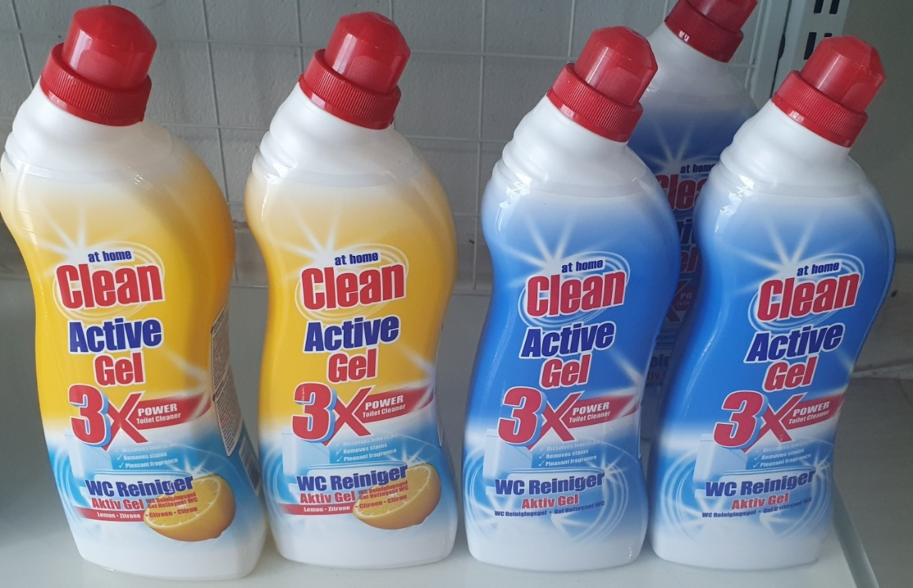 Tẩy WC At Home clean 3X 750ml