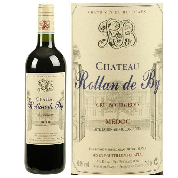 Vang Chateau Rollan de By Medoc 2015
